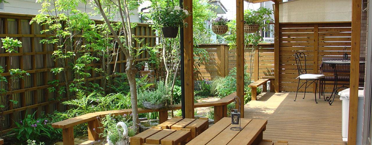 株式会社粋の家 Ausgefallener Garten