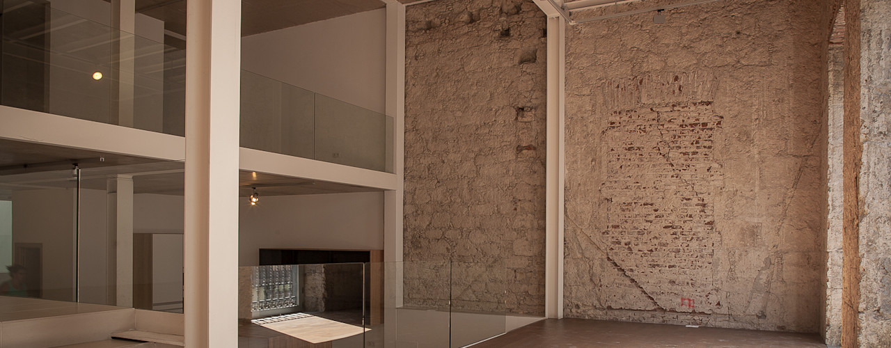 BOX49 Arquitectura y Diseño Ruang Keluarga Modern