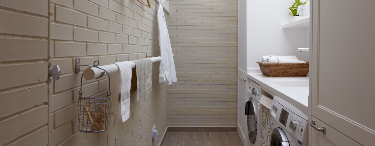 DEULONDER arquitectura domestica Cocinas eclécticas Blanco