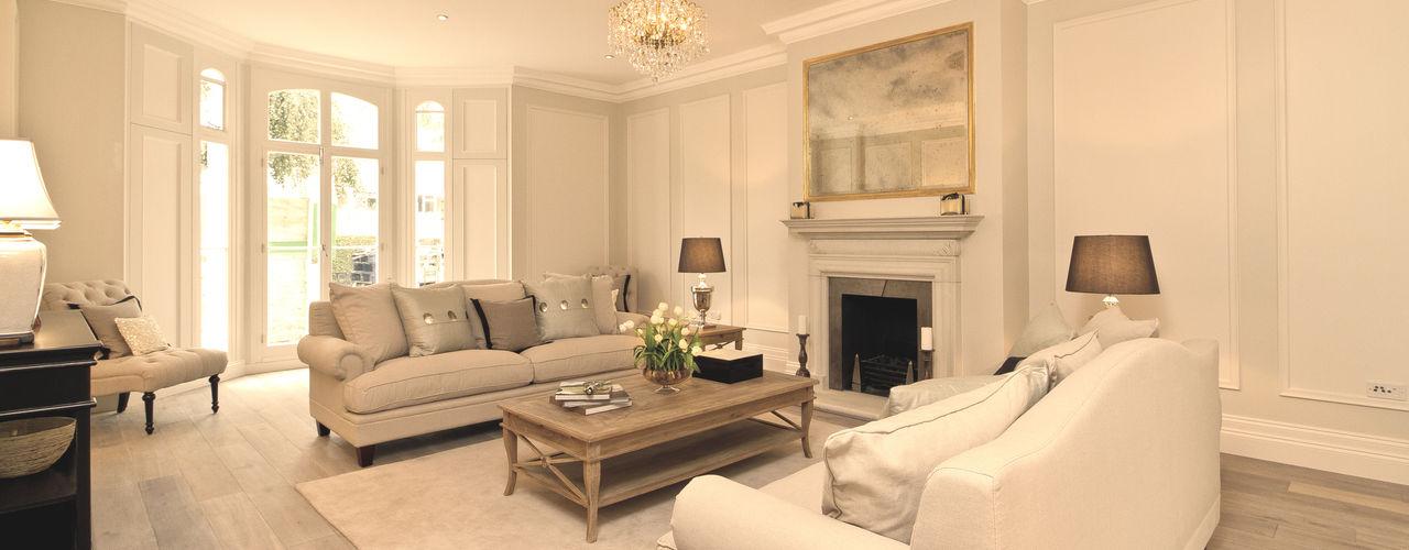 Mercier Road, Putney Concept Eight Architects Modern living room