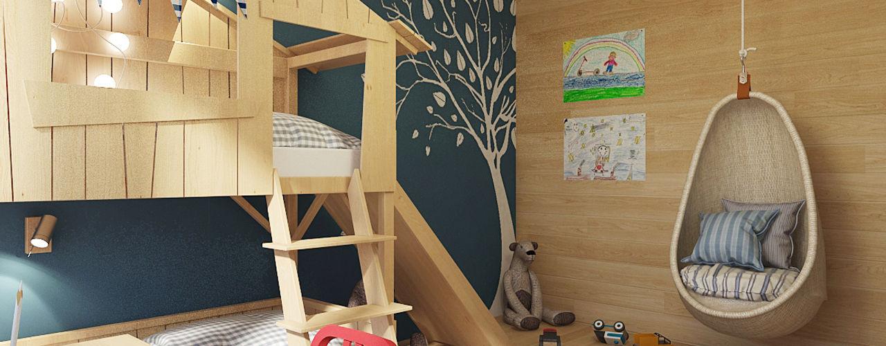 Мастерская дизайна Welcome Studio Ausgefallene Kinderzimmer