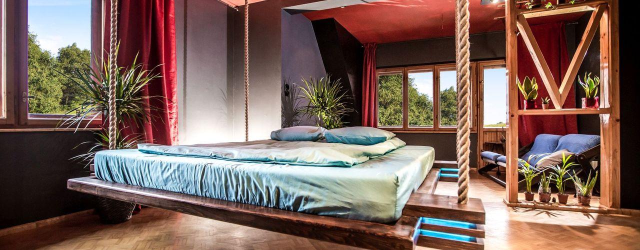 Hanging beds DormitoriosCamas y cabeceros