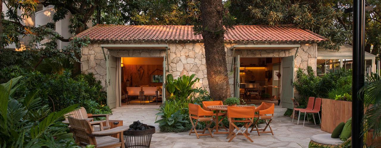 Marina Linhares Decoração de Interiores Jardines de estilo tropical