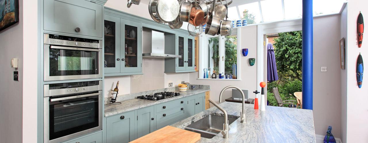 Mediterranean Style Rencraft Dapur Gaya Mediteran Kayu Blue