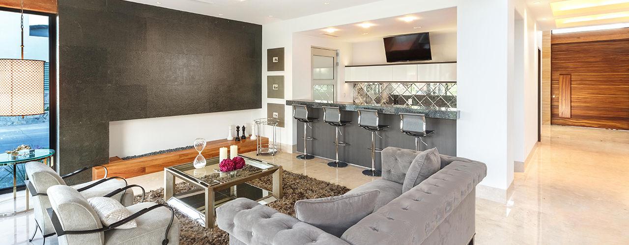 Imativa Arquitectos Moderne Wohnzimmer