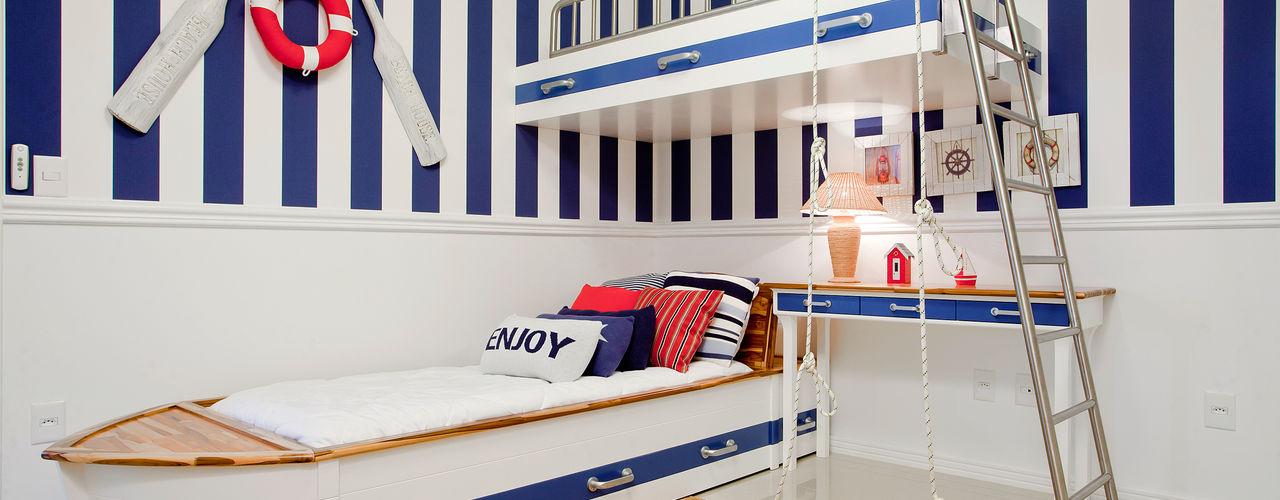 Luxo para Férias Karla Silva Designer de Interiores Quarto infantil tropical