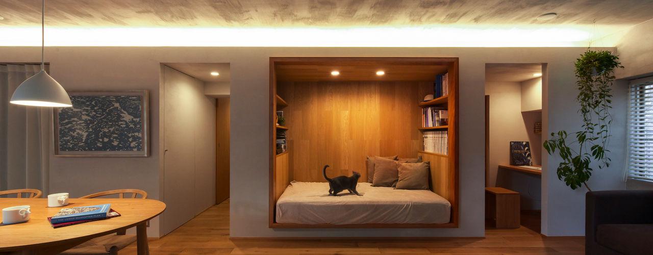 Nobuyoshi Hayashi Modern style bedroom