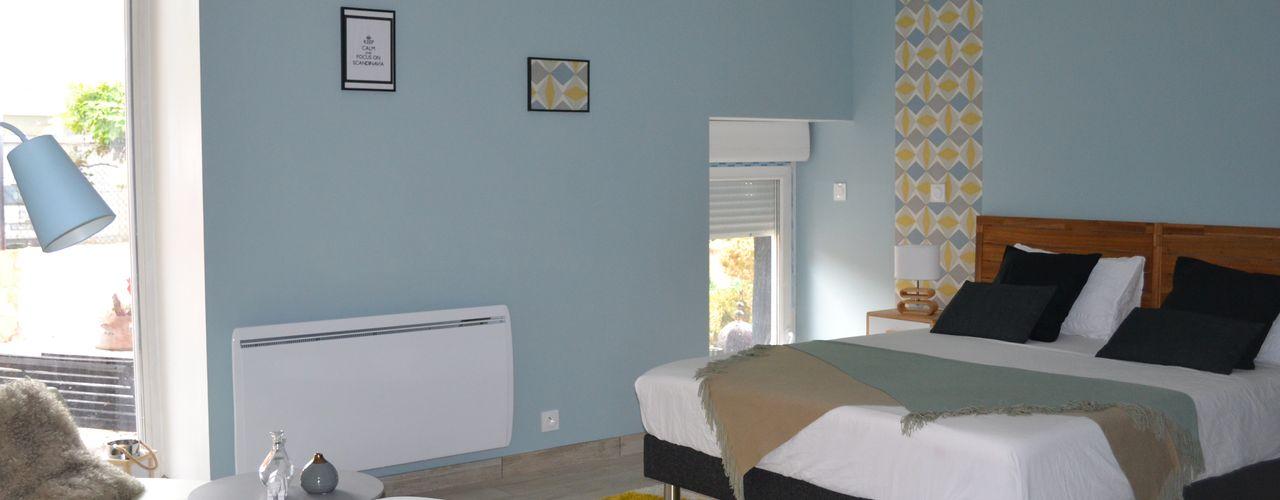 KREA Koncept Eclectic style bedroom