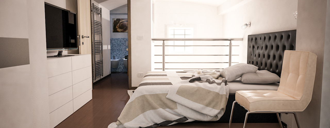 Proreal3D Modern style bedroom White