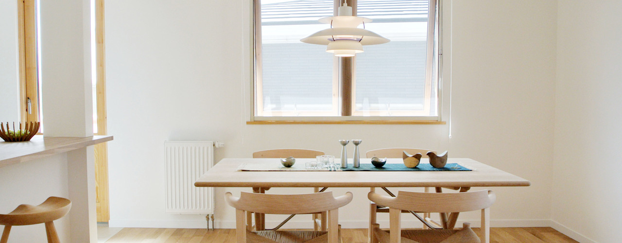 美しいデンマーク家具とライティング 株式会社 ヨゴホームズ 北欧デザインの リビング