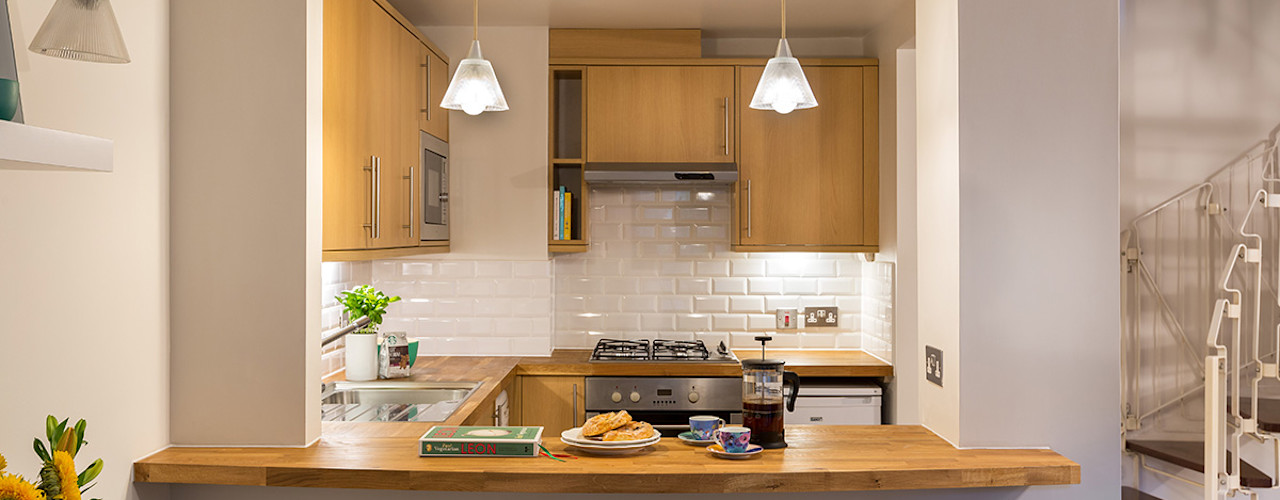 Eden Court Project Katie Malik Interiors Dapur Modern