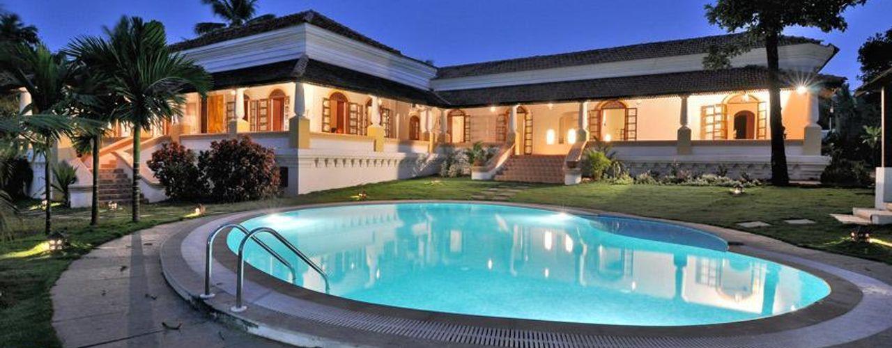 Yassmine Rita Mody Joshi & Associates Modern pool