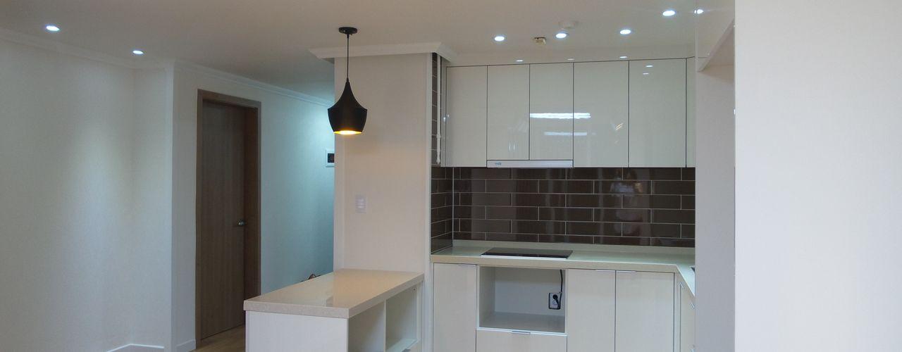 디자인 컴퍼니 에스 Modern kitchen