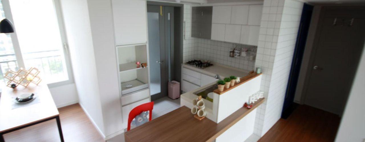 디자인스튜디오 레브 Modern dining room