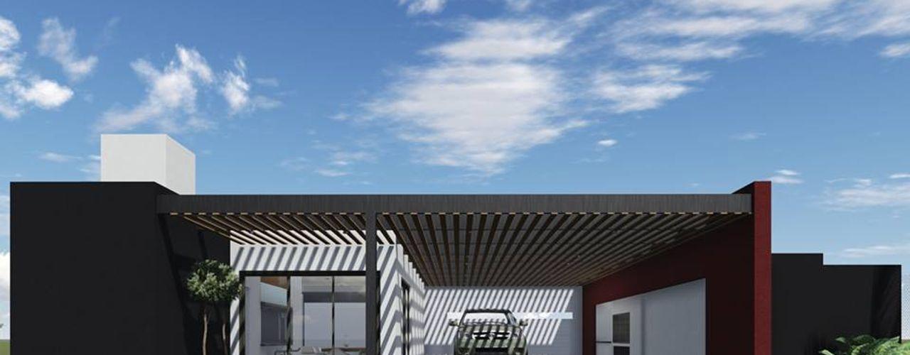 Proyecto Quincho en Las Rosas ARBOL Arquitectos Prefabricated Garage