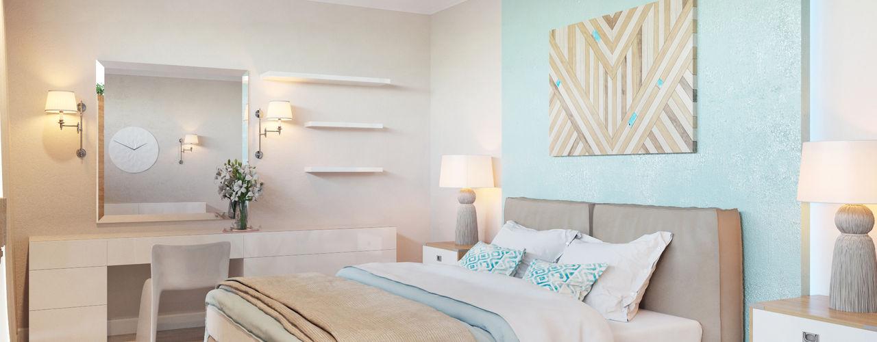 Студия авторского дизайна ASHE Home Industrial style bedroom