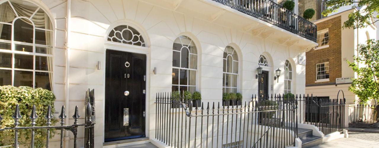 Chester Street House, London Nash Baker Architects Ltd 房子 磚塊 White