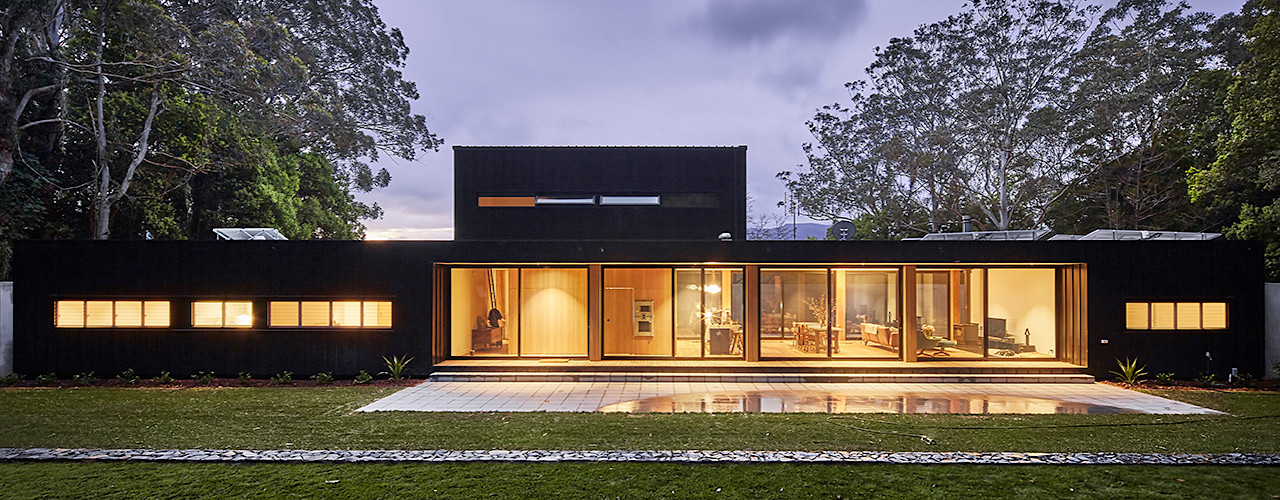 Modular Home in Berry, NSW Modscape Holdings Pty Ltd Maisons minimalistes
