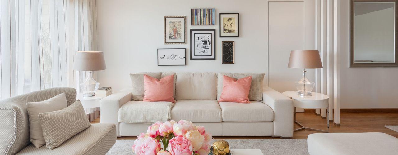 Interdesign Interiores غرفة المعيشةديكورات واكسسوارات