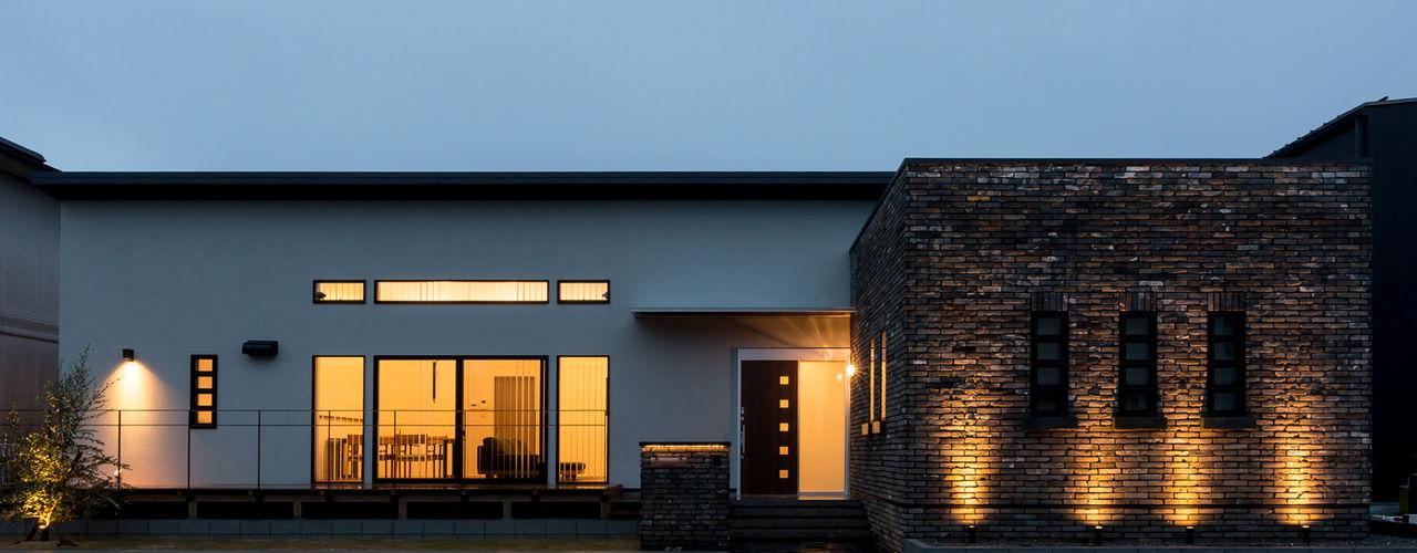 N邸新築 株式会社 鳴尾工務店 北欧風 家 レンガ ブラウン