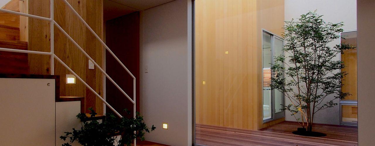 アトリエ スピノザ Pasillos, vestíbulos y escaleras escandinavos