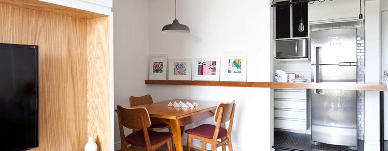 INÁ Arquitetura Ruang Makan Gaya Skandinavia