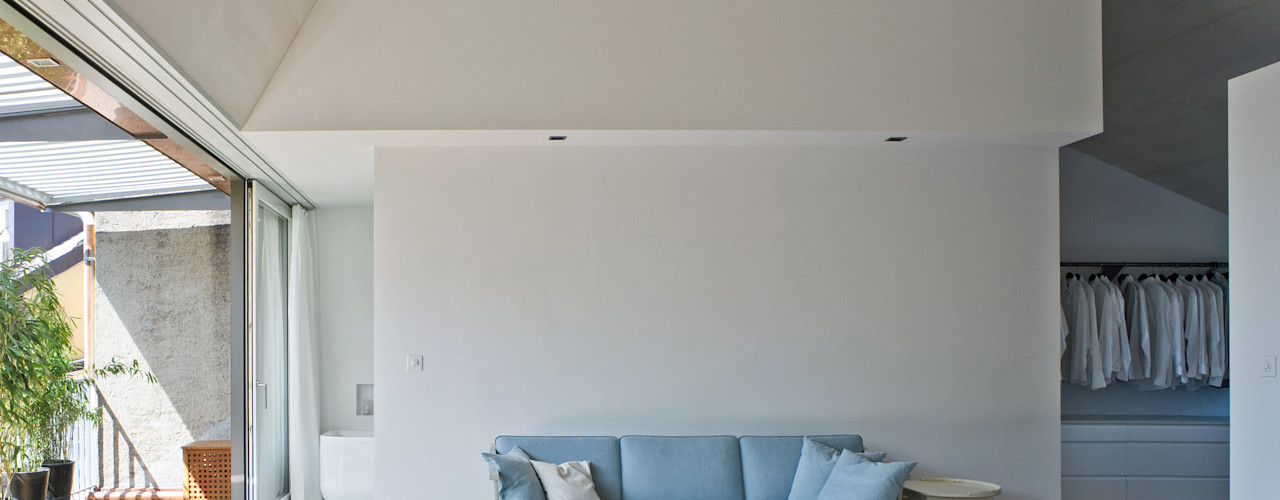 Forsberg Architekten AG Soggiorno moderno