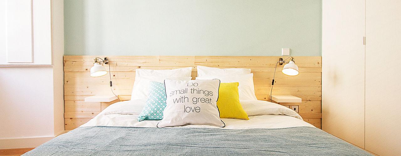 homify Dormitorios de estilo escandinavo