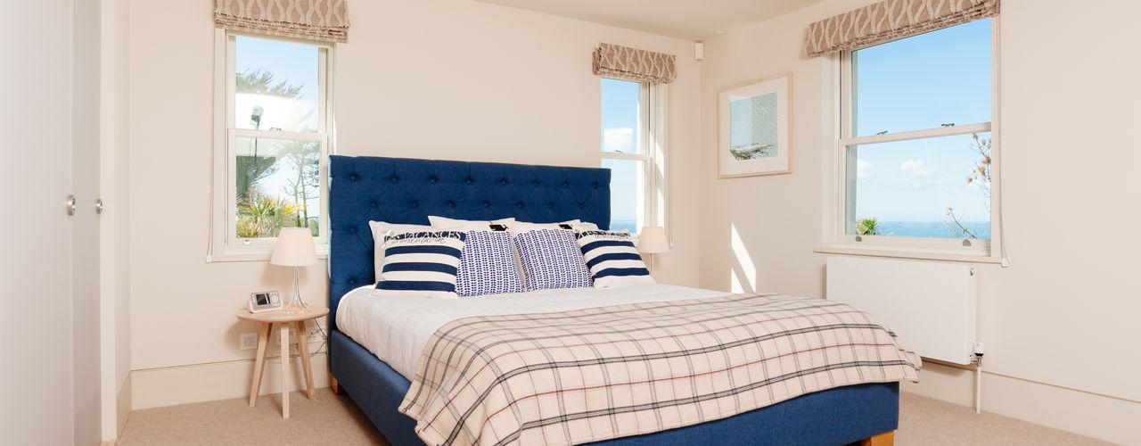 Ednovean House, Perranuthnoe | Cornwall Perfect Stays Kamar Tidur Modern