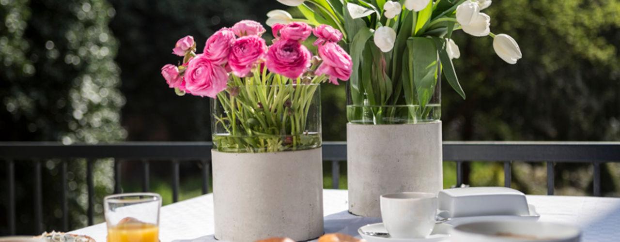 Further concrete accessories Betoniu GmbH Balconies, verandas & terraces Plants & flowers