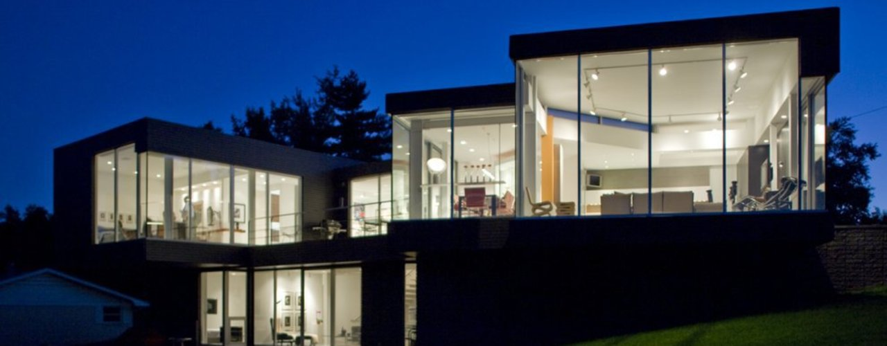 Fachadas Vektor arquitek Casas modernas