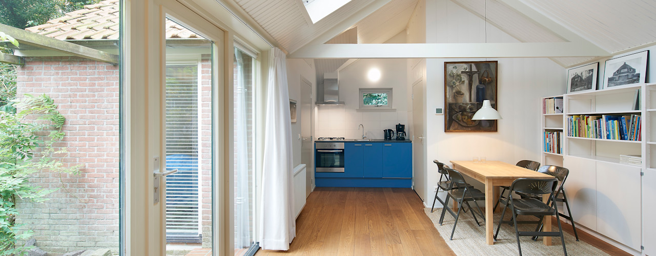 Architectenbureau Vroom Phòng khách phong cách đồng quê