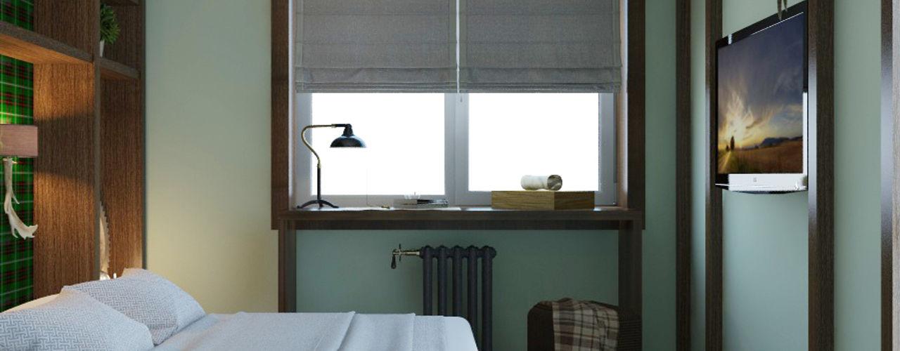 Частный дизайнер и декоратор Девятайкина Софья Colonial style bedroom