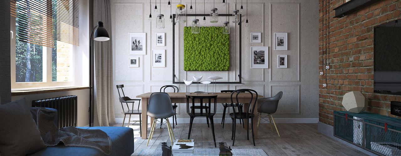 Студия Семена Вишнякова '1618 ROOM' Living room