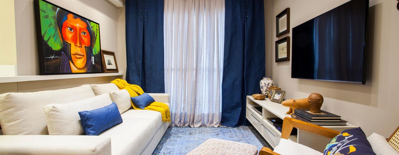 Estúdio HL - Arquitetura e Interiores 客廳