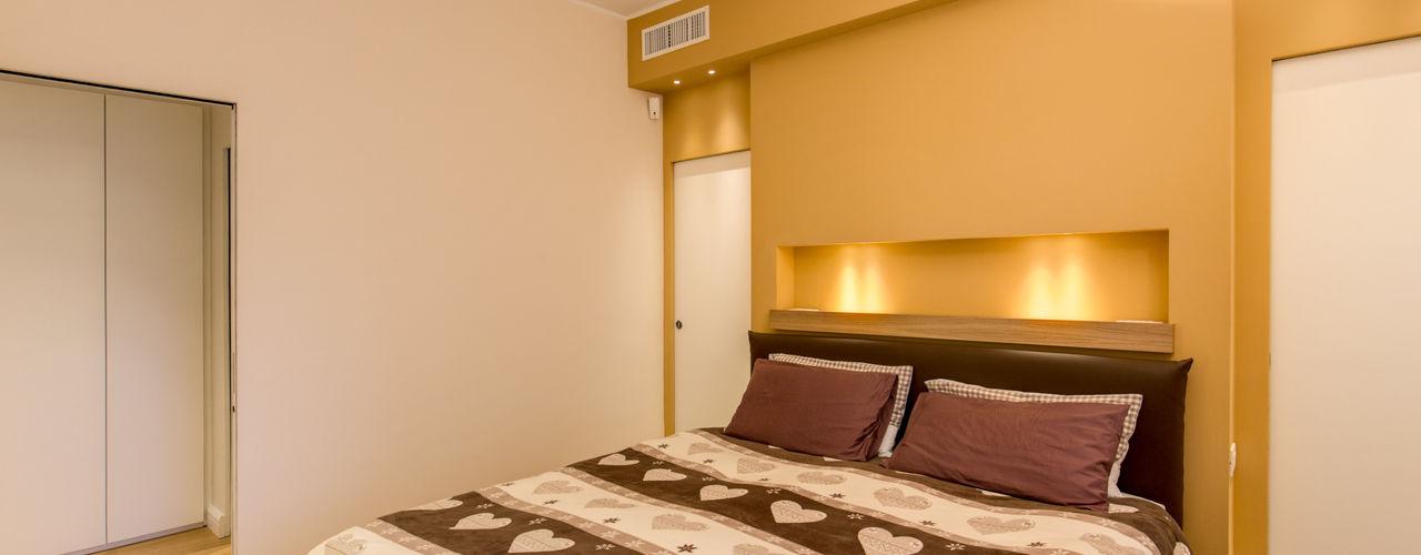 CAMILLUCCIA MOB ARCHITECTS Camera da letto moderna