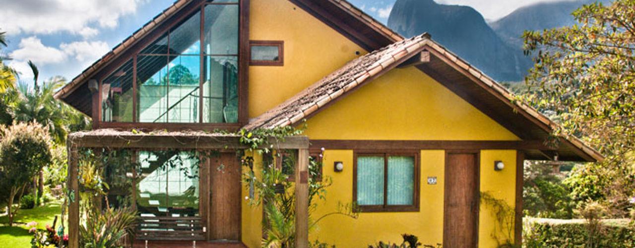 Carlos Eduardo de Lacerda Arquitetura e Planejamento Casas de estilo rural Amarillo