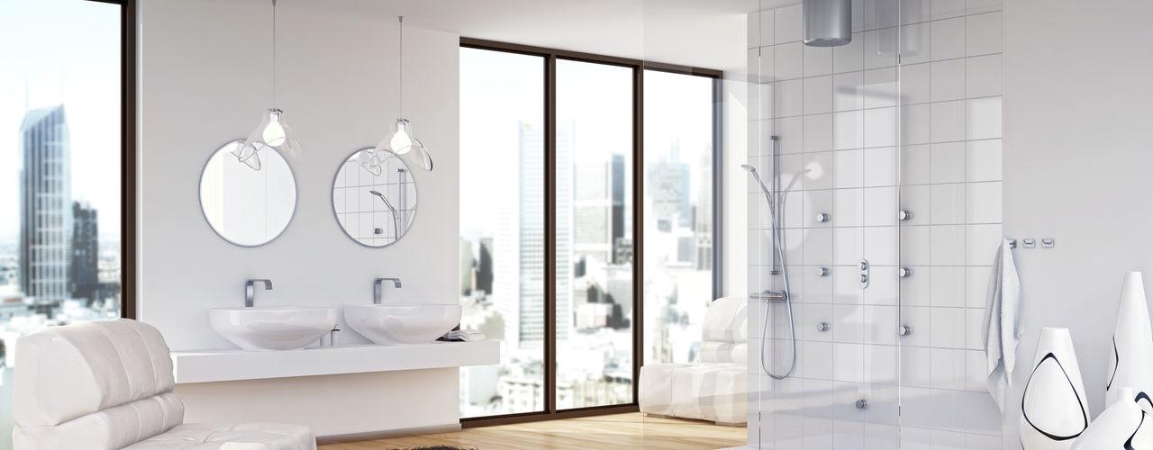 Jung Pumpen GmbH Salle de bainBaignoires & douches Tuiles Blanc
