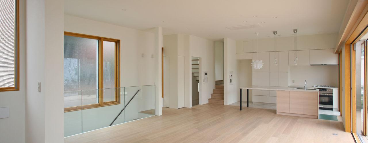 設計事務所アーキプレイス 스칸디나비아 거실