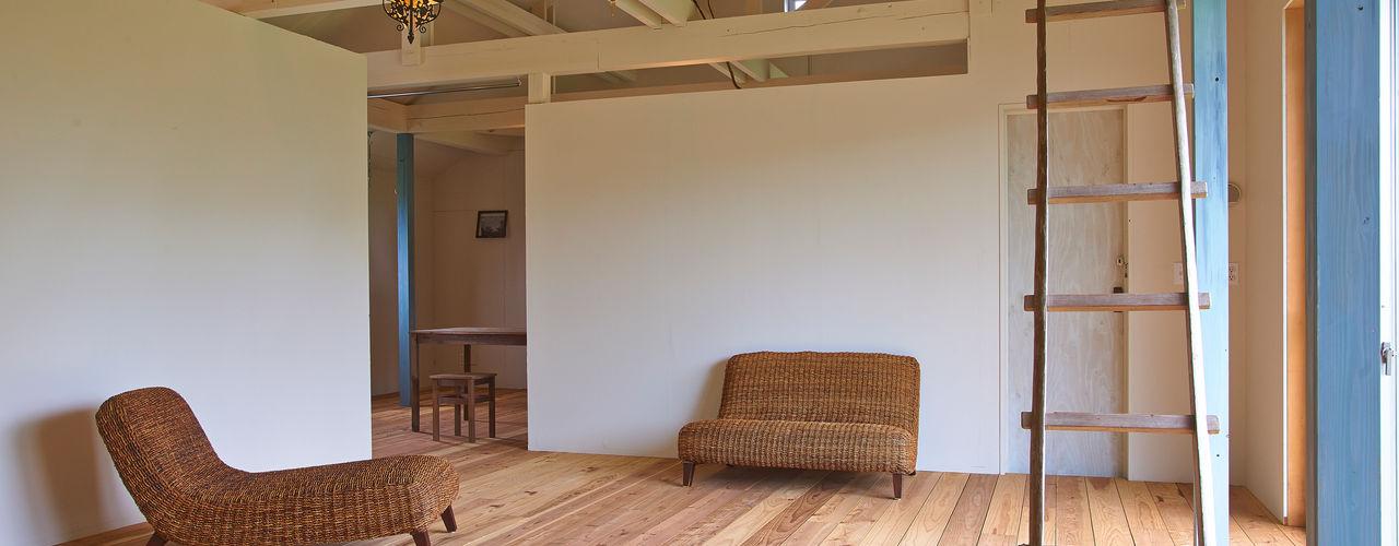 ik-house tai_tai STUDIO 和風デザインの リビング