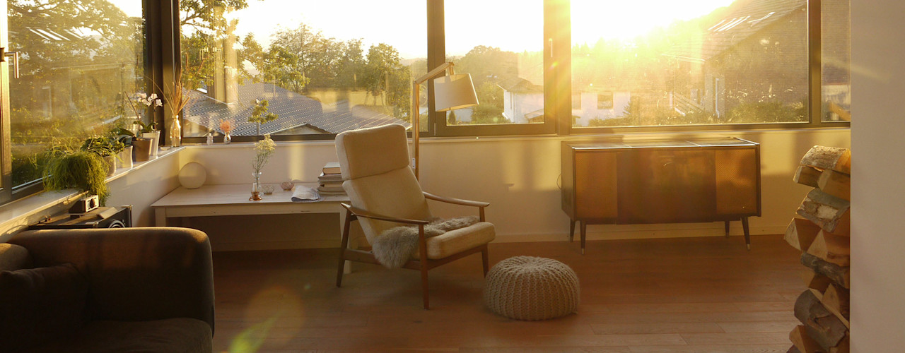 K2 Architekten GbR Livings de estilo escandinavo