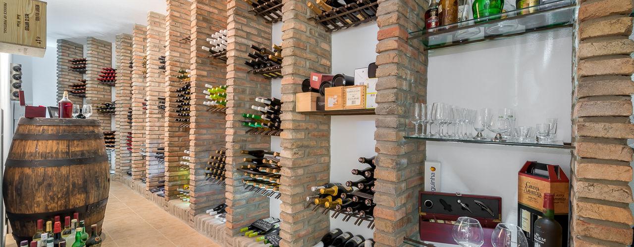 Pedro Queiroga | Fotógrafo Rustic style wine cellar