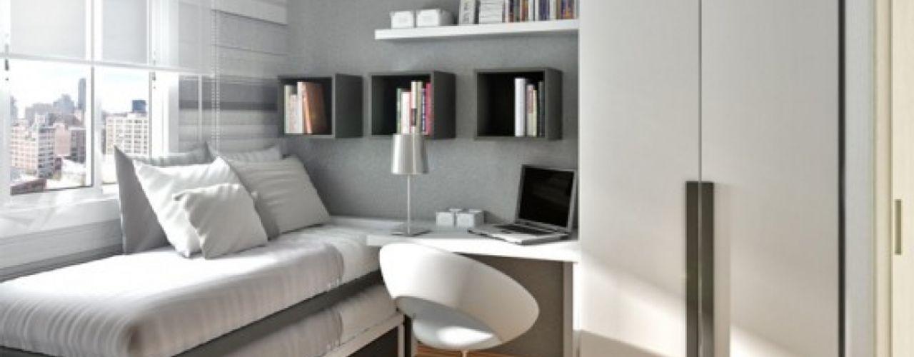 Waterfall Estate Ideas GSI Interior Design & Manufacture Minimalist bedroom