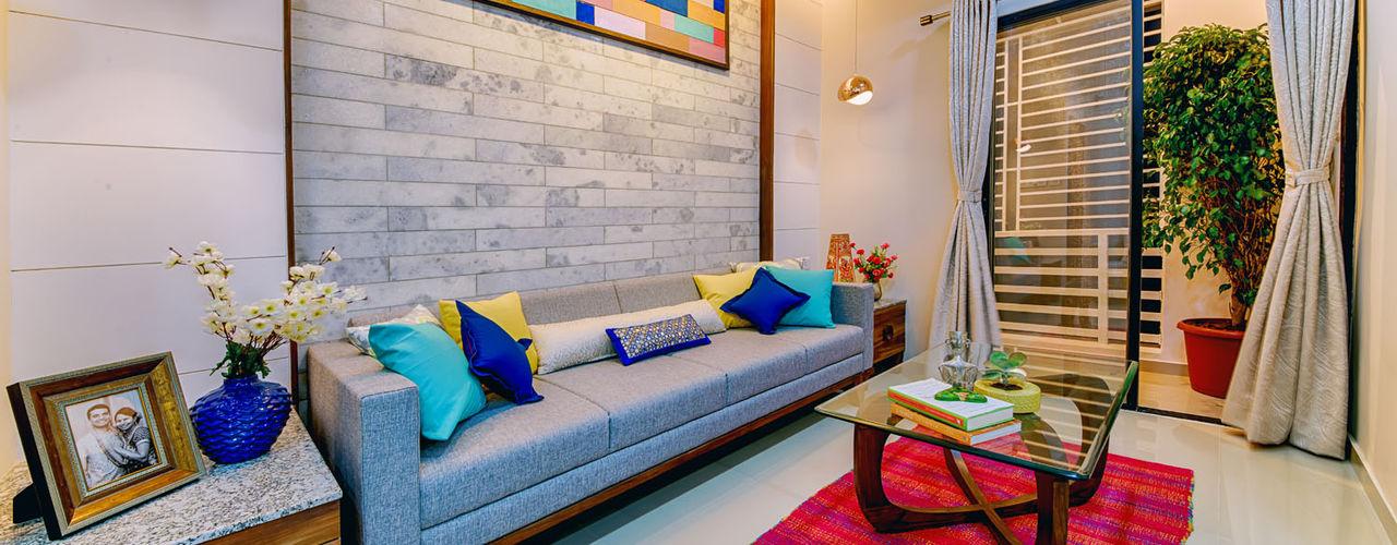 Saar Interior Design Ausgefallene Wohnzimmer Mehrfarbig