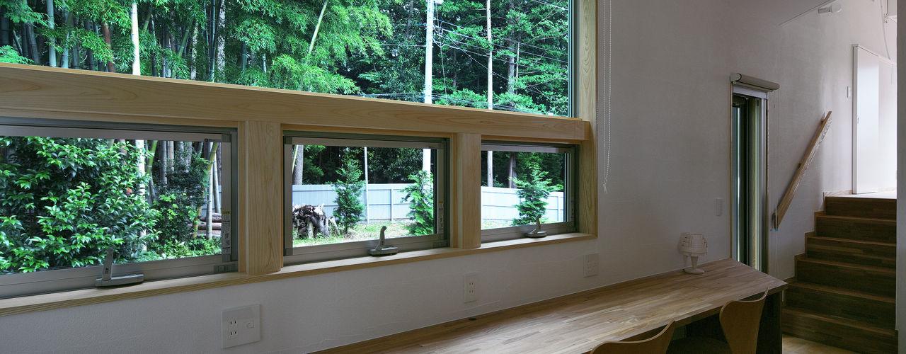 かんばら設計室 Study/office Wood