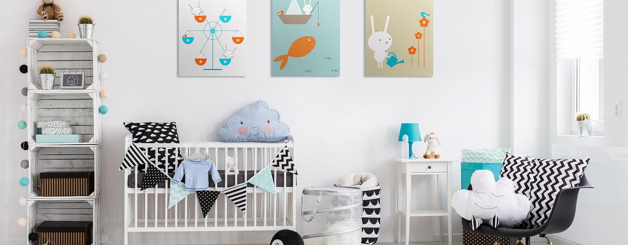Nursery & kids room Pixers Recámaras infantiles escandinavos
