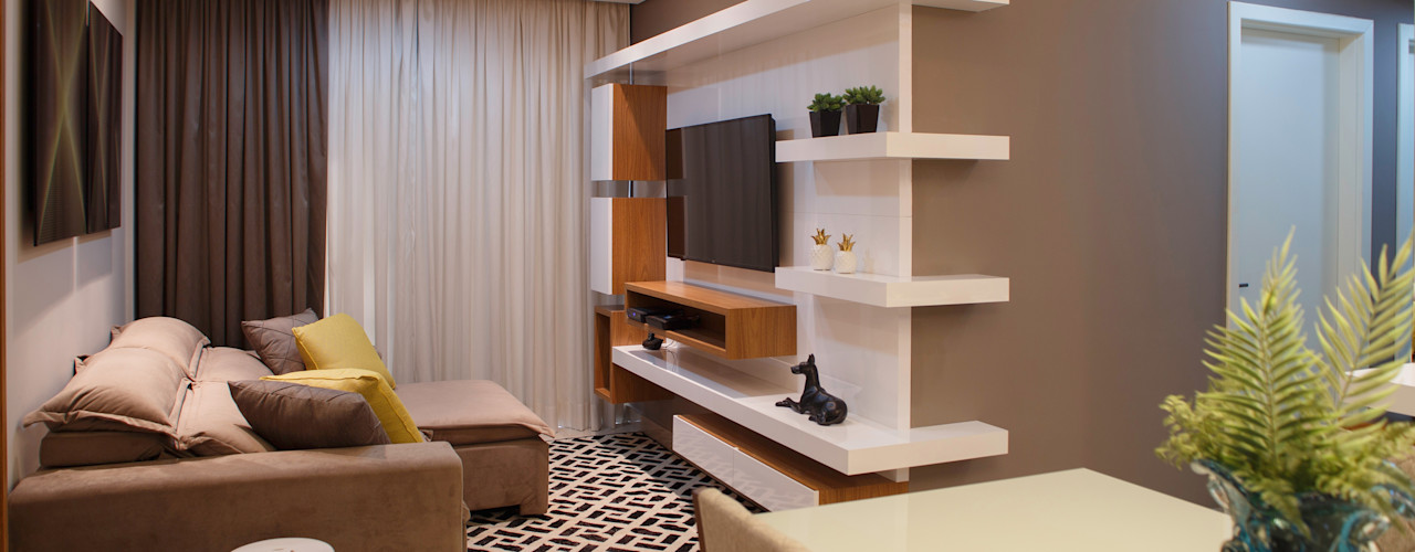 Only Design de Interiores Media room
