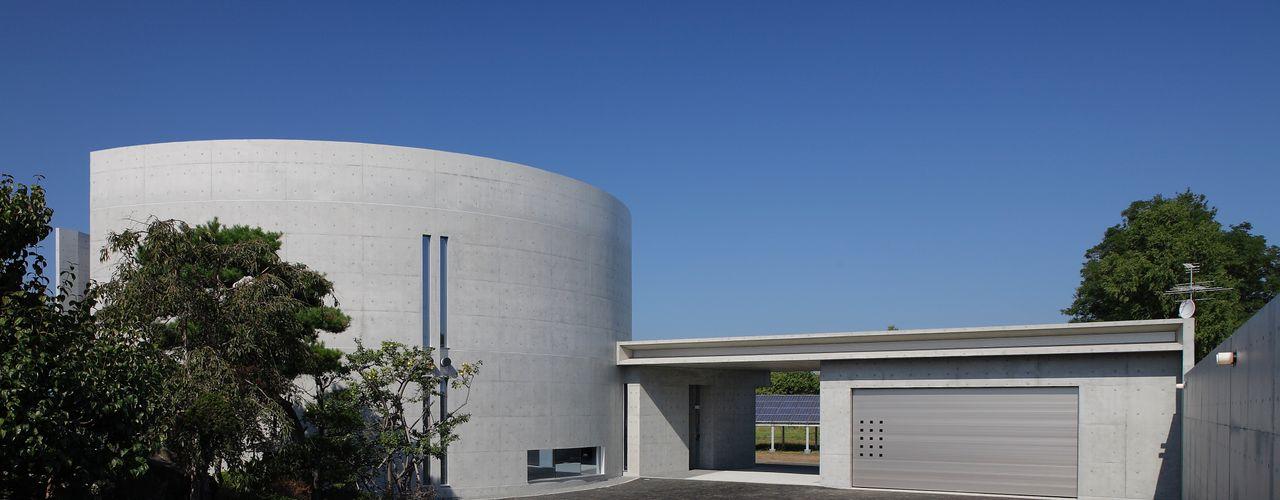 NJResidence ヒココニシアーキテクチュア株式会社 モダンな 家