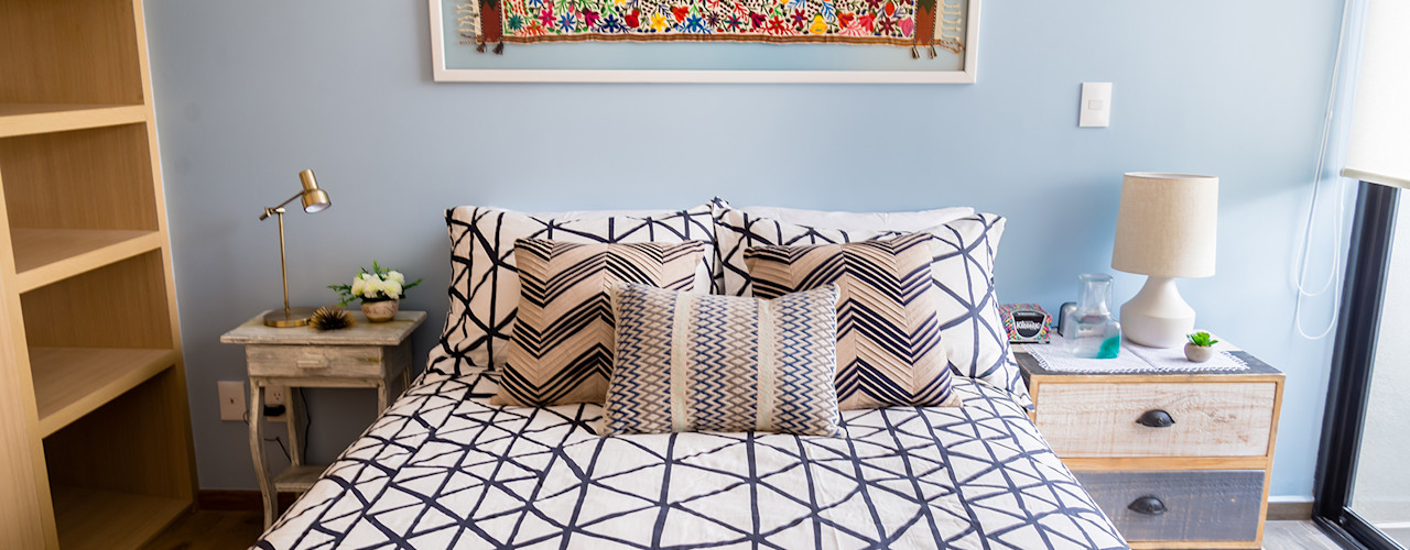 Choapan Decor by Erika Winters®Design Erika Winters® Design Спальня