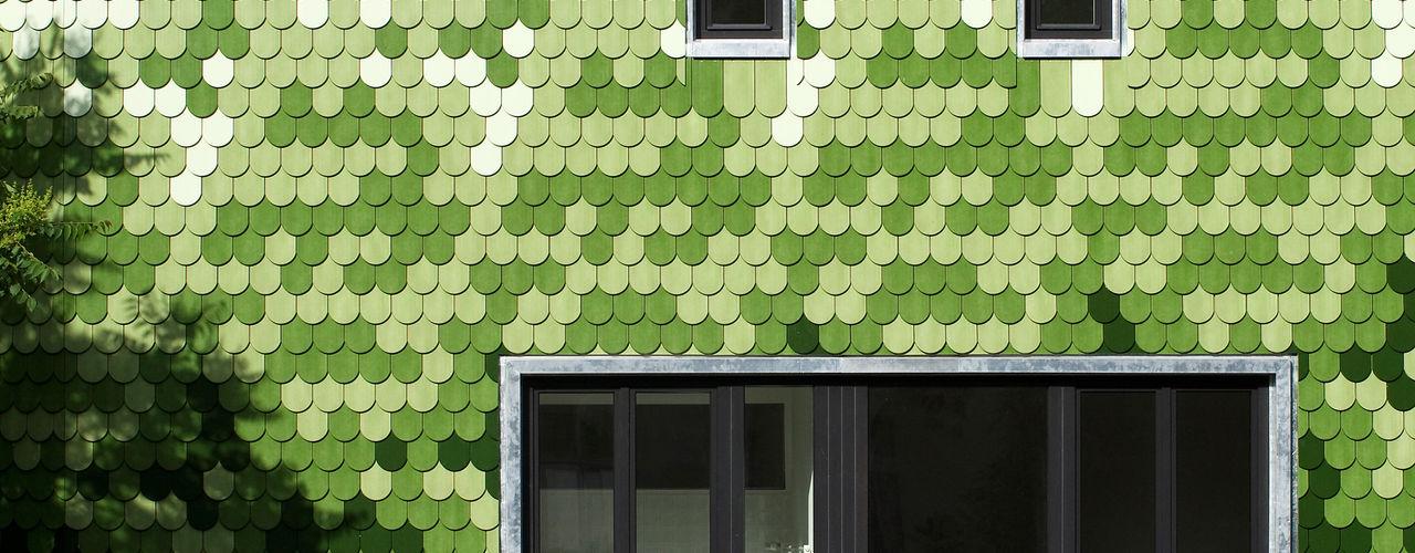 brandt+simon architekten Modern houses Ceramic Green